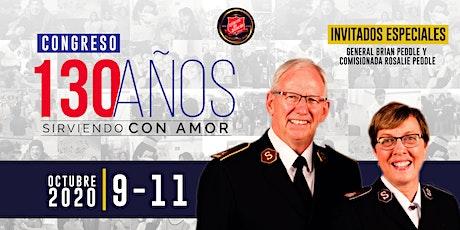 """Congreso 130 años """"Sirviendo con Amor"""" entradas"""
