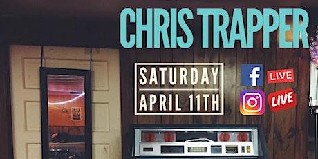 Chris Trapper Live Online tickets
