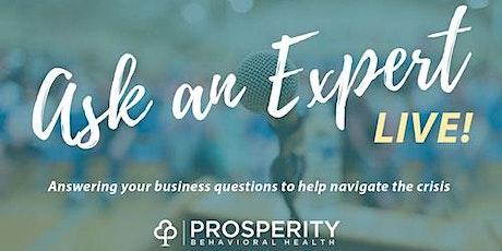 Ask An Expert-Live! tickets