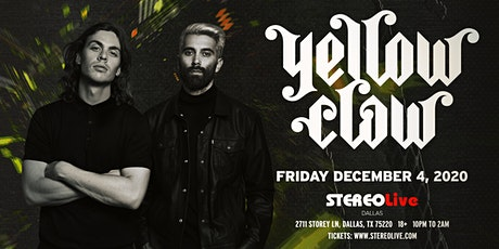 Yellow Claw - Stereo Live Dallas tickets