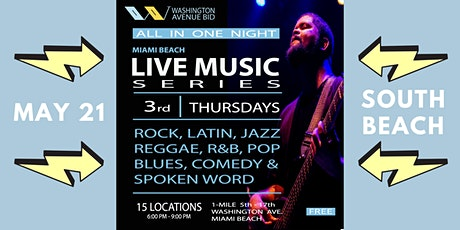 FREE Miami Beach Live Music Series tickets
