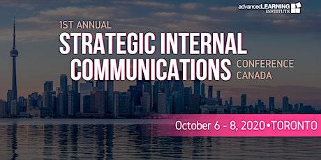 Strategic Internal Communications Canada tickets
