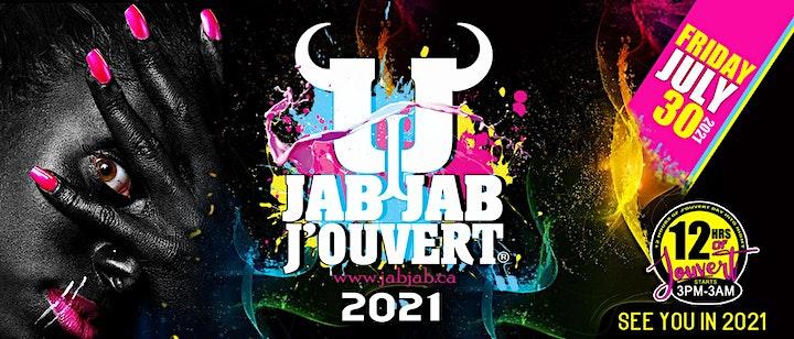 JAB JAB J'OUVERT 2021 - Toronto Caribana Caribbean Carnival image