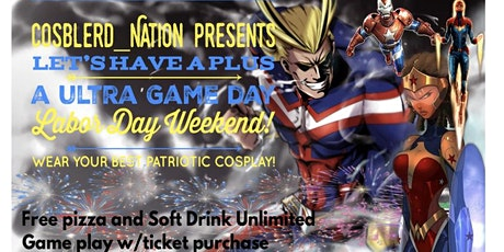 Cosblerd_nation Presents Plus Ultra Game Festival tickets