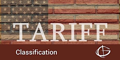 Tariff Classification Webinar  tickets