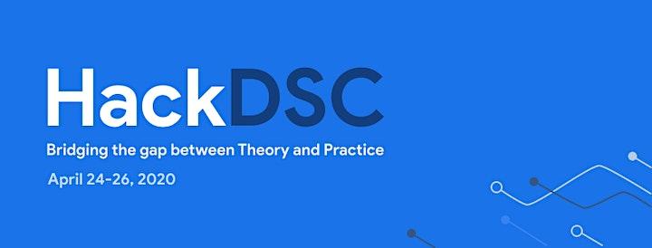 HackDSC Virtual Hackathon image