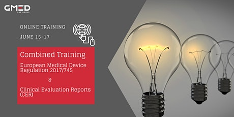 ONLINE TRAINING | European Medical Device Regulation 2017/745 & Clinical Evaluation Reports (CER) tickets