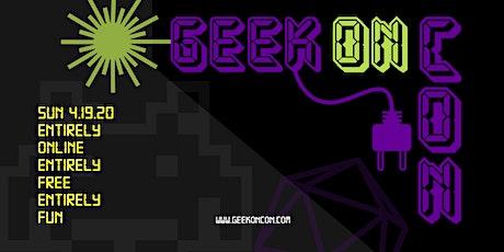 GeekOn Con tickets