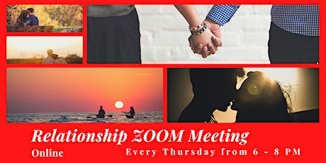 Tips for Building a Healthy Relationship - Online Zoom Meeting tickets
