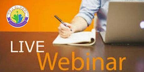 #1 FREE Online Business Webinar - HOW to start a Global Online Business tickets