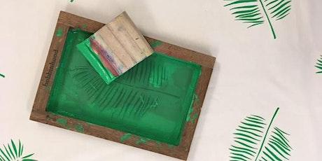 zeefdrukken met Bobbinhood tickets