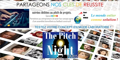 "Pitch Night Paris spécial ""Sons"" billets"