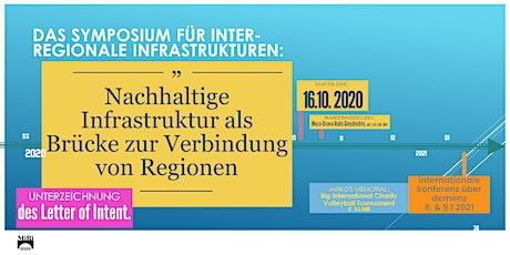 DAS SYMPOSIUM FÜR INTER-REGIONALE INFRASTRUKTUREN tickets