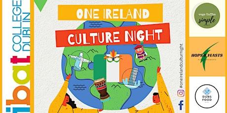 One ireland ibat students culture night tickets