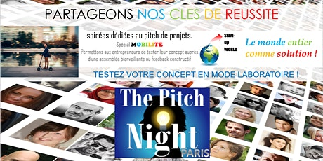 "Pitch Night Paris spécial ""Mobilité"" tickets"