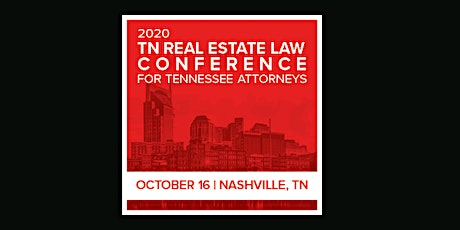 Tennessee Real Estate Law Conference (ahm) S tickets