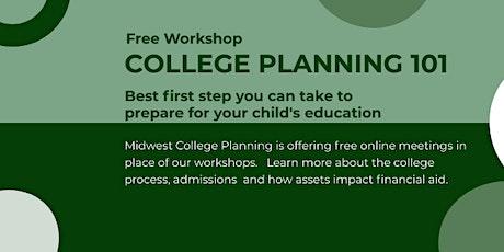 Free College Planning Talk tickets