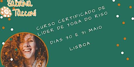 Curso Certificado Líder  de Yoga do Riso Lisboa bilhetes