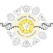 Hallam Roses WI logo