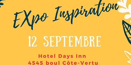 Foire Expo Inspiration tickets