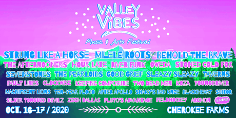 Valley Vibes Music & Arts Festival tickets