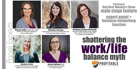 Shattering the Work/Life Balance Myth tickets