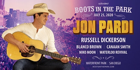 Boots in the Park w/ Jon Pardi, Russell Dickerson,  Blanco Brown & more! tickets