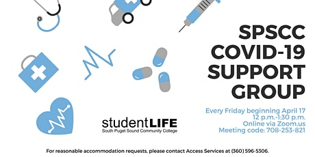 SPSCC Online COVID-19 Support Group tickets