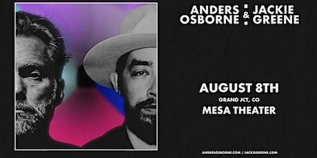 Anders Osborne & Jackie Greene - CANCELLED tickets