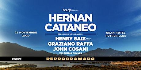HERNAN CATTANEO - Potrerillos, Mendoza 2020 tickets