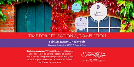 Spiritual Reader & Healer Fair: Time for Reflection and Completion tickets