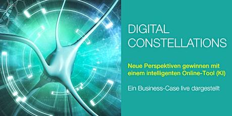 Digital Constellations: Live-Darstellung Business-Case mit Online-Tool Tickets