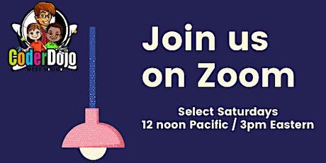 West Sound CoderDojo on Zoom! tickets