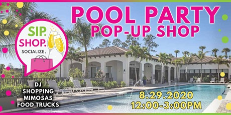 Pool Party Pop Up Shop!! tickets