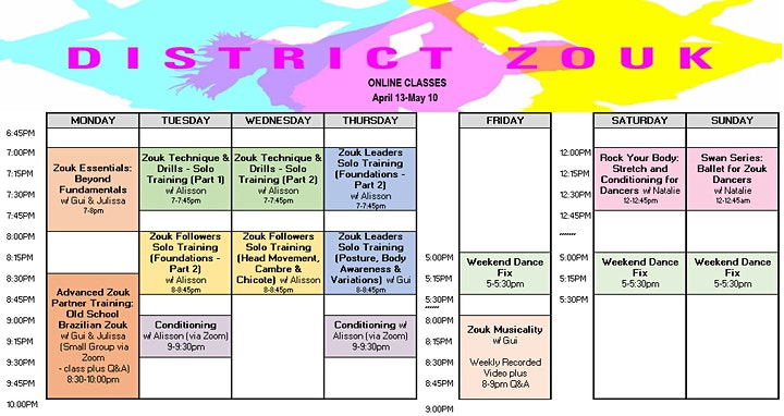 District Zouk Online Learning image