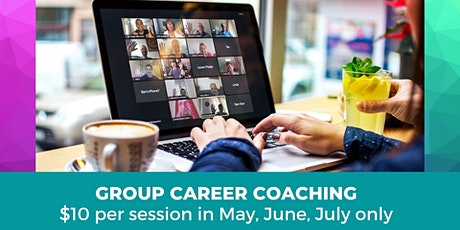 Online Group Career Coaching - Virtual 'LIVE' Sessions tickets