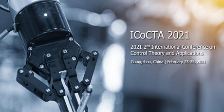 International Conference on Control Theory and Applications (ICoCTA 2021) tickets