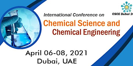 International Conference on Chemical Science and Chemical Engineering(CSCE) tickets