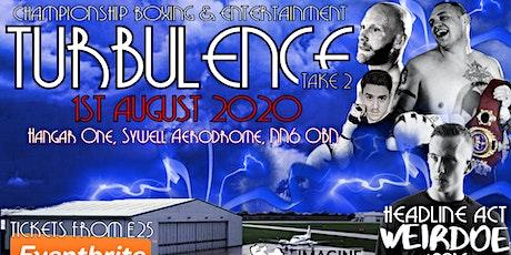 Turbulence Take 3 tickets
