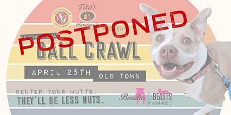 POSTPONED- Beauties & Beasts BALL CRAWL 2020 - A Pub Crawl Fundraiser tickets