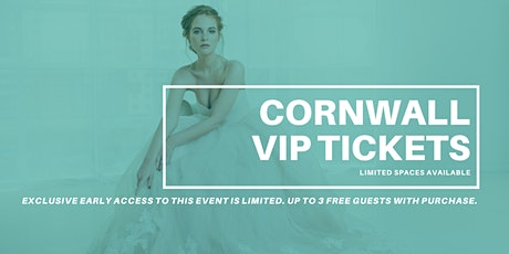 Opportunity Bridal VIP Early Access Cornwall Pop Up Wedding Dress Sale tickets