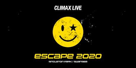 Escape 2020 tickets
