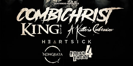Combichrist w/ King 810, A Killers Confession & Heartsick tickets