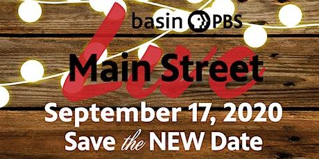 Basin PBS Main Street Live 2020 tickets