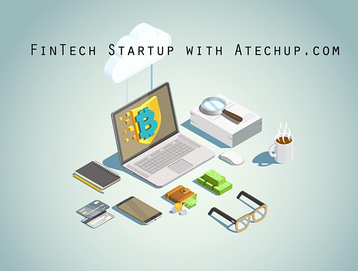 Develop a Successful FinTech Startup Business Hackathon Webinar image