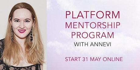 Online Platform Mentorship Program tickets