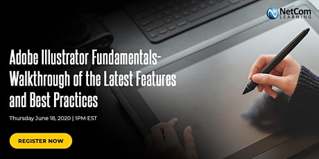 Free Online Course -  Adobe Illustrator Fundamentals tickets
