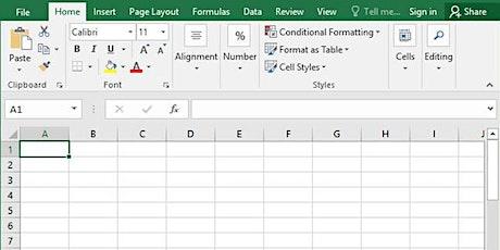 Excel (Beginner, Intermediate) 4 Week Training with Tableau Introduction tickets