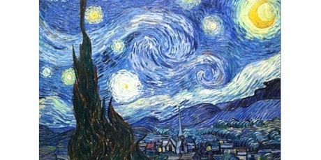 """Sunday Afternoon Central Park Sip and Paint """"Starry Night""""""""   (06-07-2020 starts at 2:30 PM) tickets"""