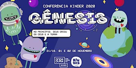 Conferência Kinder ingressos